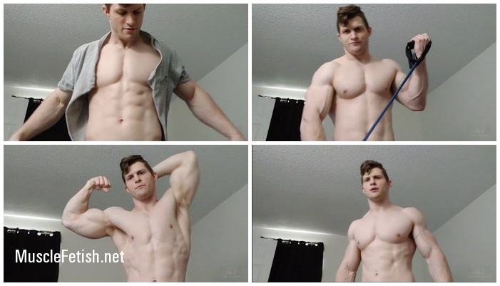 S4M video - Game of Swolls - Shirt Rip and massive bicep pumping (HD)