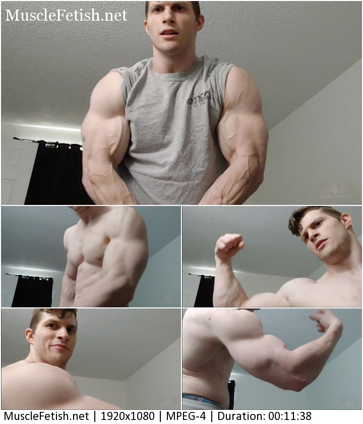 S4M video - Game of Swolls - Shirt Rip and massive bicep pumping - photo shoot