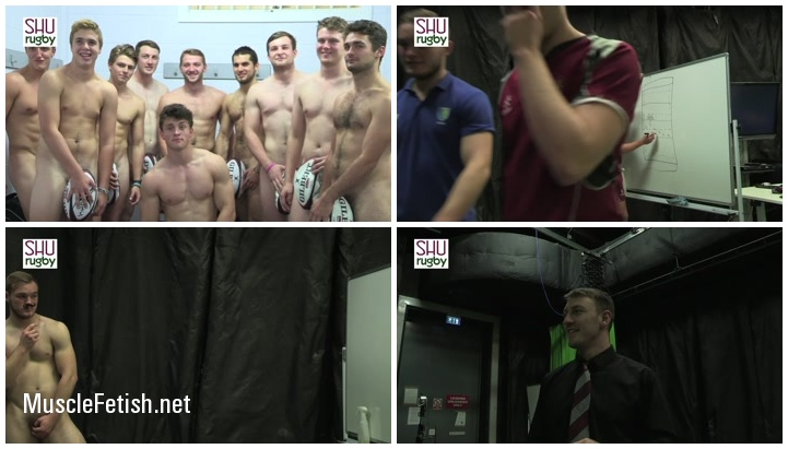 SHU Rugby - Making Of Calendar 2015 Year