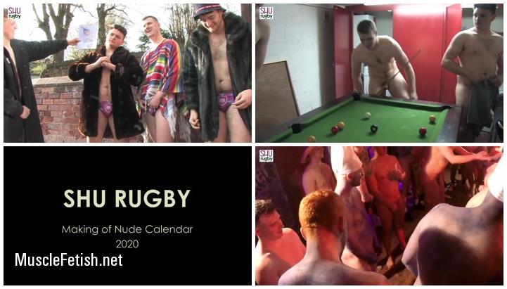 SHU Rugby - Making Of Calendar 2020 - photo shoot part 1
