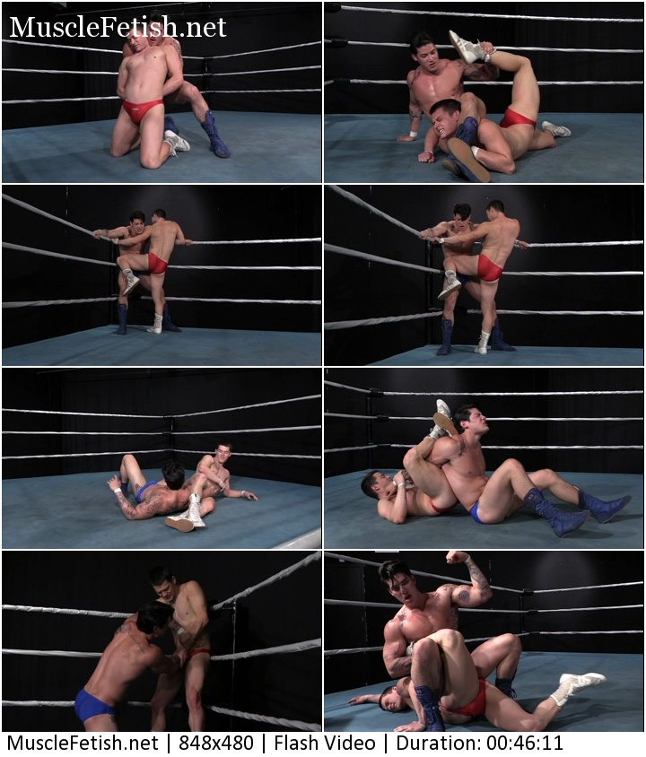Scott Summers vs Jamie Stroud - Hollywood Erotic from Can-Am Pro Wrestling part 2