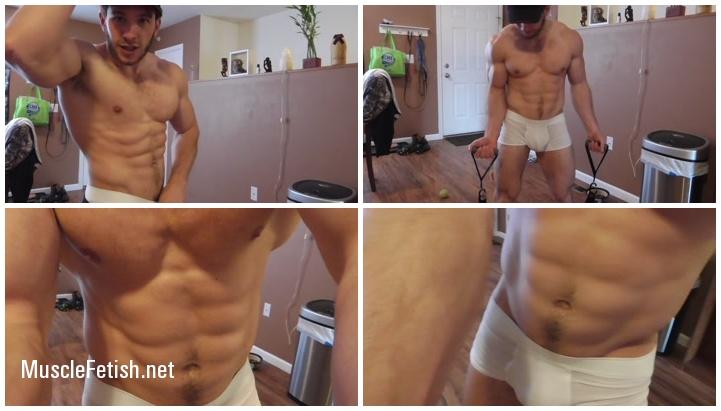 Sexy Bodybuilder Anthony Green Demonstrates Male Underwear Part 6