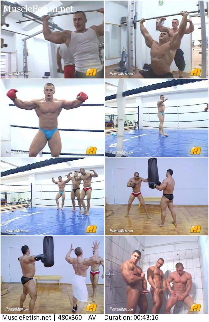 Sexy boxing - bodybuilders from PowerMen
