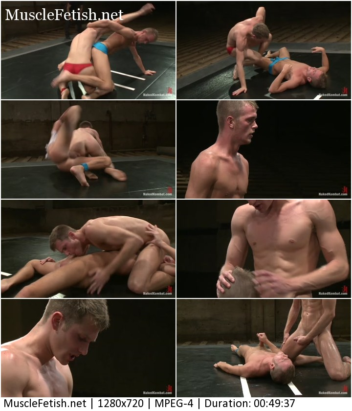 Shane Erickson vs Jake Woods - gay wrestling video from Naked Kombat