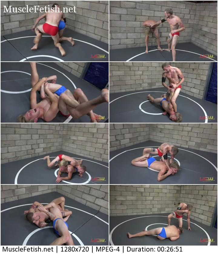 Skip Vance vs Eli Black - male wrestling (UCW - 431)