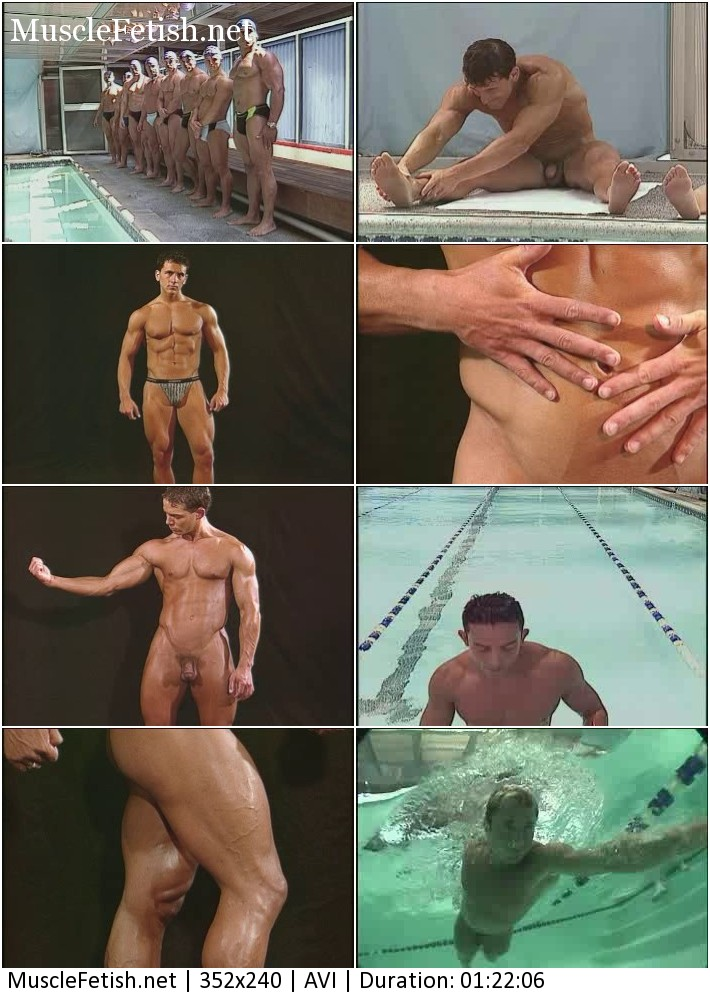 Sport softcore - sexual naked swimmers - male erotic from College Swim Team