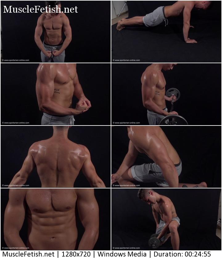 Sportsmen online - Bodybuilder Roberto Photo Shoot (HD)