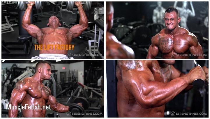 Strengthnet - Bodybuilder Logan Clark Photo Shoot