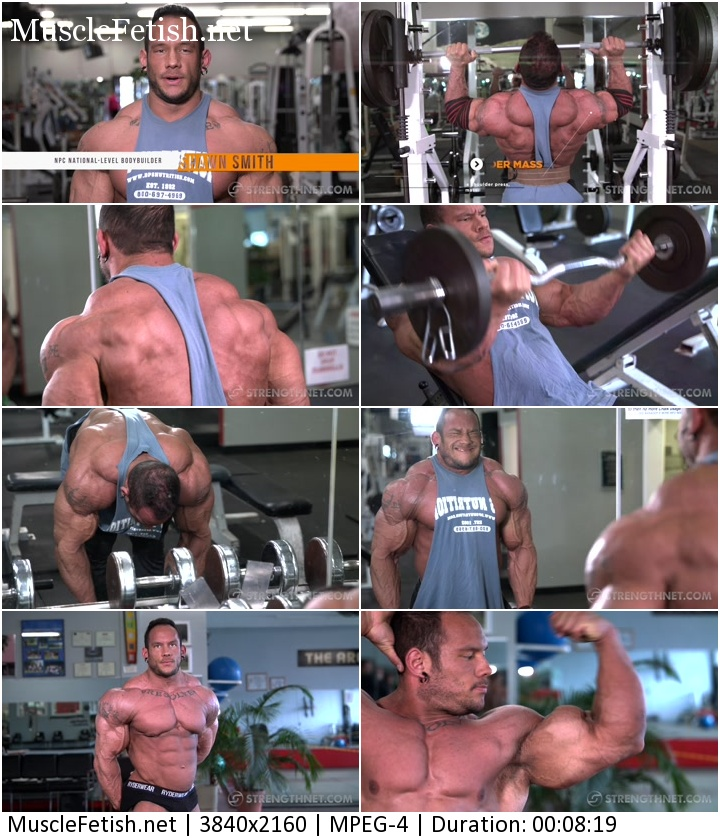 Strengthnet - Bodybuilder Shawn Smith Photo Shoot 3