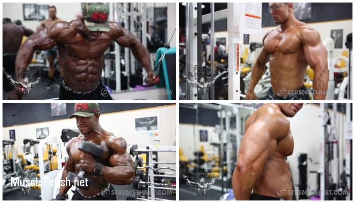 Strengthnet - IFBB Pro Cane Bishop and NPC Classic Physique Athlete Elijah Lorono - Muscle Photo Shoot