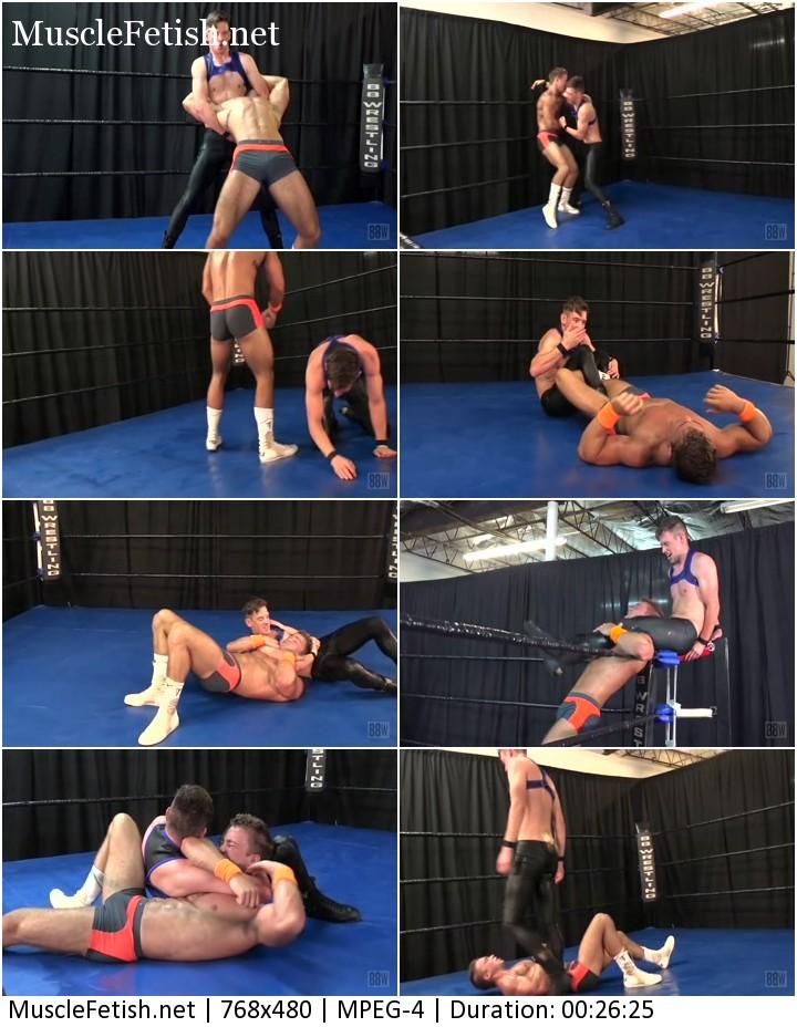 Tanner Hill vs Ethan Andrews - male wrestling show