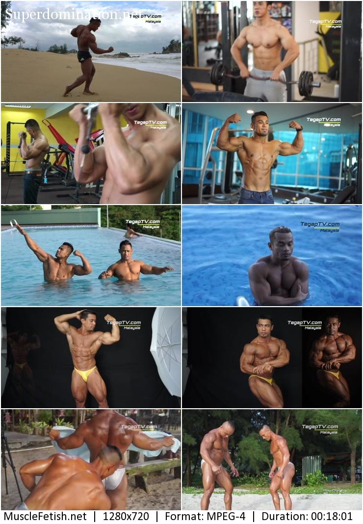 TegapTV - Hot Malay Bodybuilders - Compilation 1