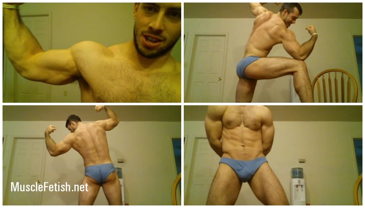 The Muscle Corps - Bodybuilder Alec - 3 clips