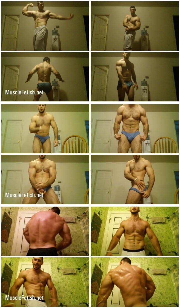 The Muscle Corps - bodybuilder Alec - 3 amateur videos