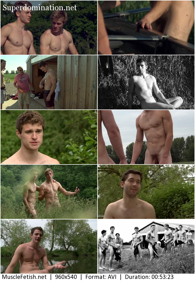 The Warwick Rowers - Erotic Calendar 2014 Bigger, Longer and Uncut