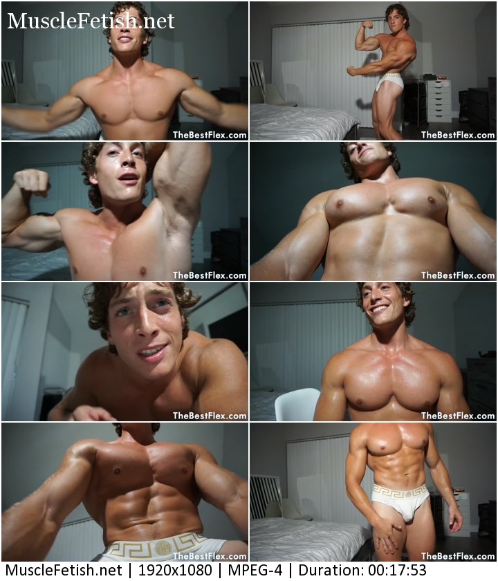 TheBestFlex – Athletic Model Caleb Sky – Young Stud Puts You In Your Place