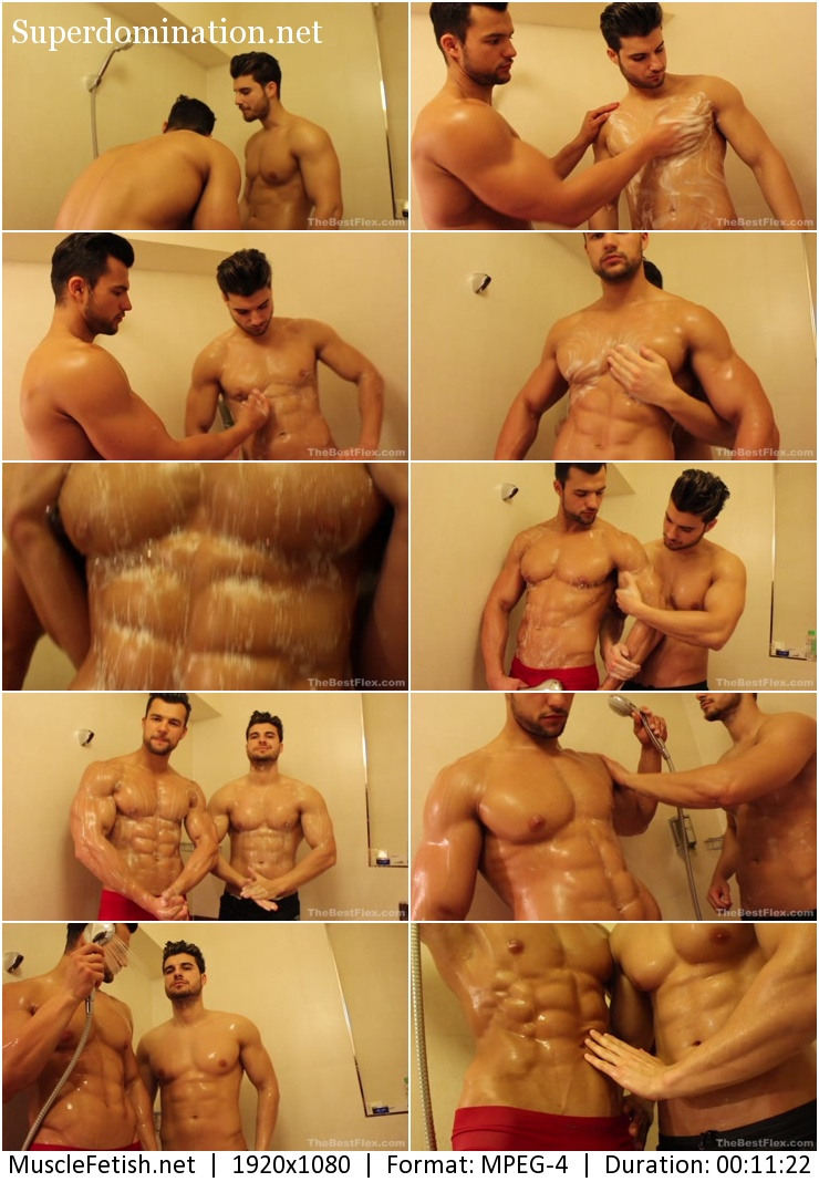 TheBestFlex – Muscle Brother Shower (HotFighterRaul)