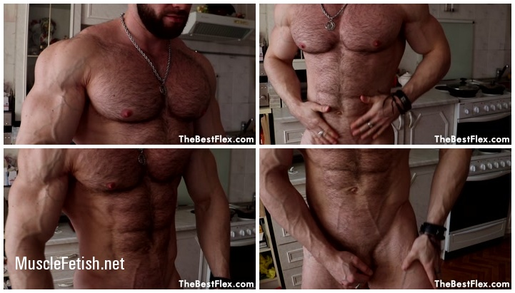 TheBestFlex - Bogdan - Naked Hairy Muscle Stud