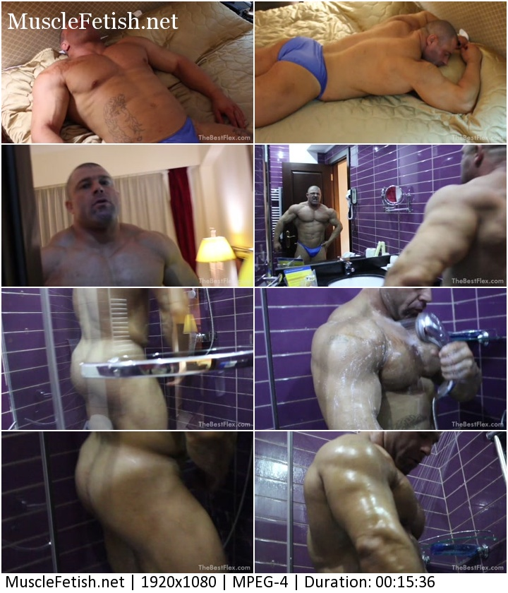 TheBestFlex - Male Model Oigan - Relax And Shower (HD)