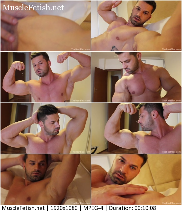 TheBestFlex - Miscle Model Adonis - Bedroom Flexing (HD)