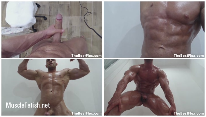 TheBestFlex - Roland - Oiled Up Stud Towers Above You