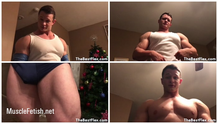 TheBestFlex Video - Bodybuilder Daniel Carter - Muscle Hunk Dominates His Boss (HD)
