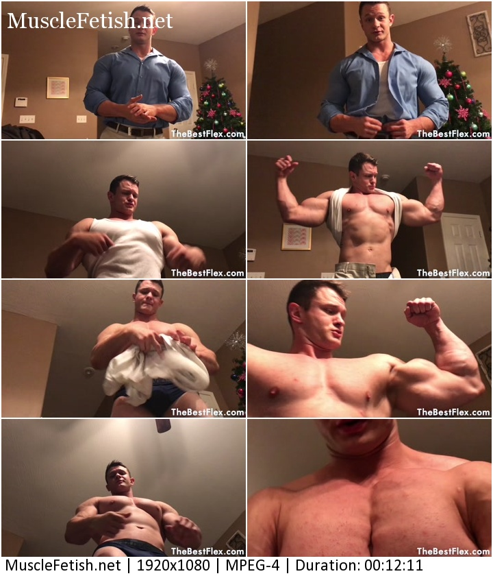 TheBestFlex Video - Muscular Model Daniel Carter - Muscle Hunk Dominates His Boss (HD)