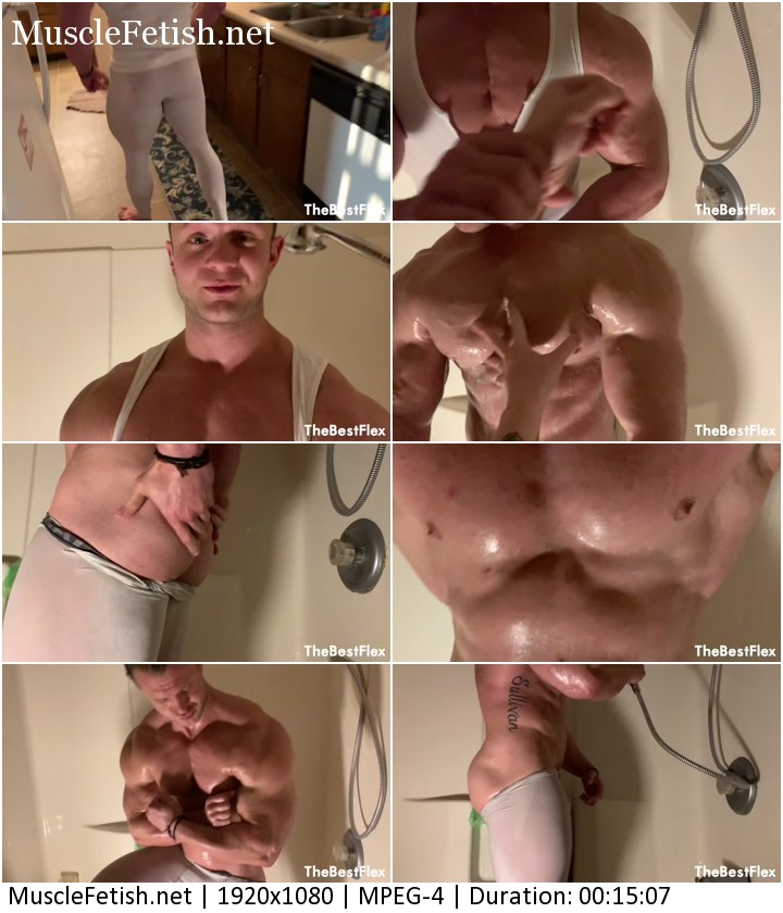 TheBestFlex video - Bodybuilder Daniel Carter - Roommate Forced To Muscle Worship