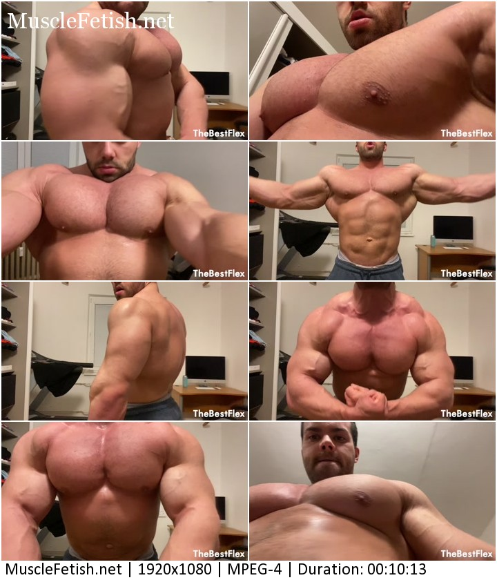 TheBestFlex video - Bodybuilder Zeecko - Totally Massive Muscles