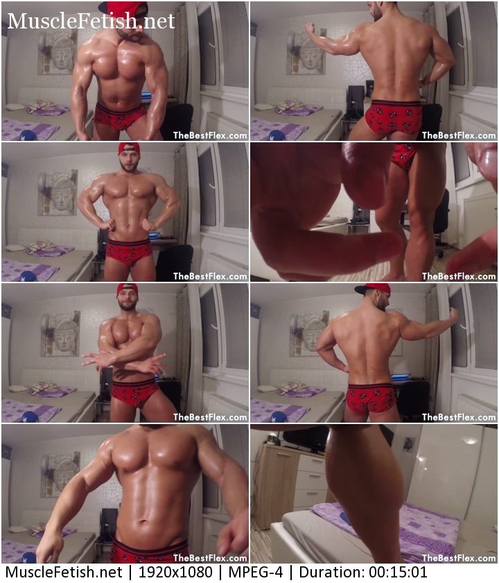 TheBestFlex video - Jack Oiled Up Stud (HD)
