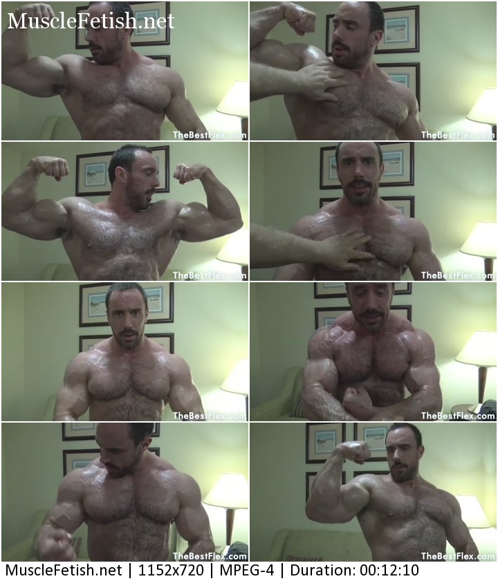 TheBestFlex video - Muscle Worship Oiled Up John Smithy