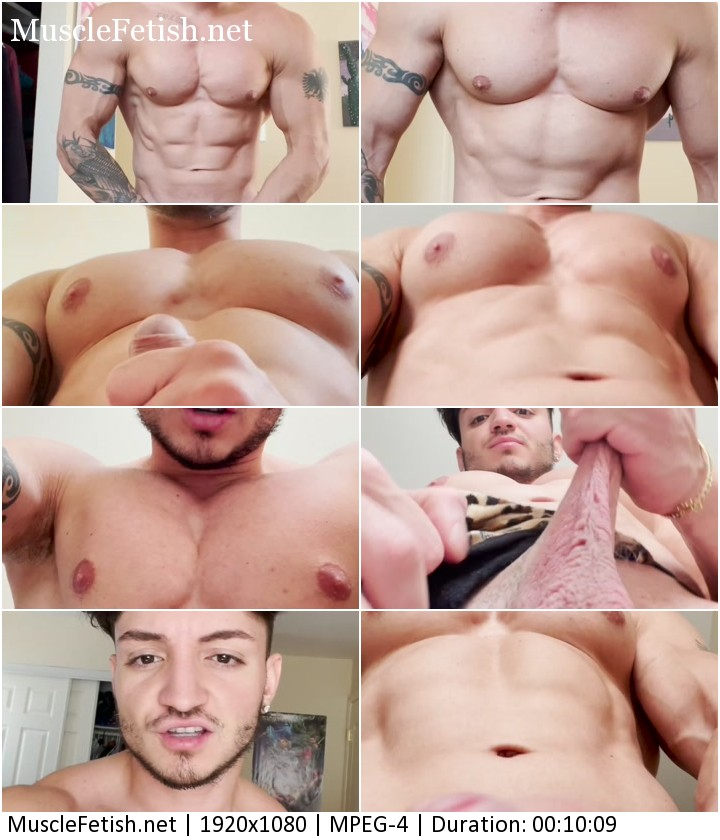 TheBestFlex video - naked Captain Flex dominated by a beast