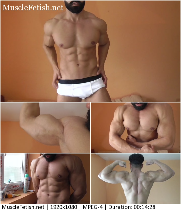 Thebestflex video - Bodybuilder Constantine - Handsome Fit Stud (HD)