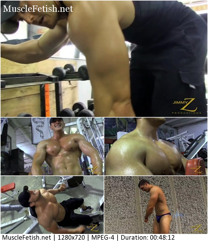 Troy Hudson - bodybuilder from JimmyZ Productions