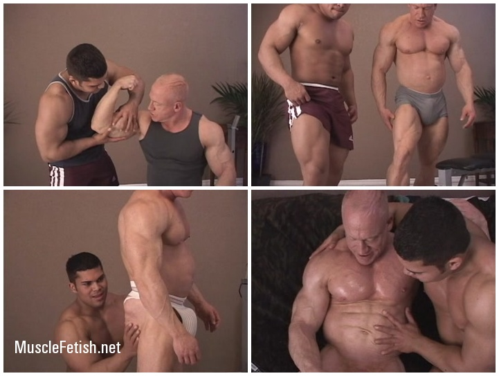 Two Hot Bodybuilders Tom Lord and Mike Rios