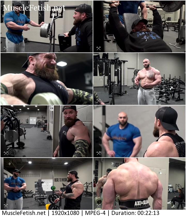 Two bodybuilders - Seth Feroce and Vincenzo Masone