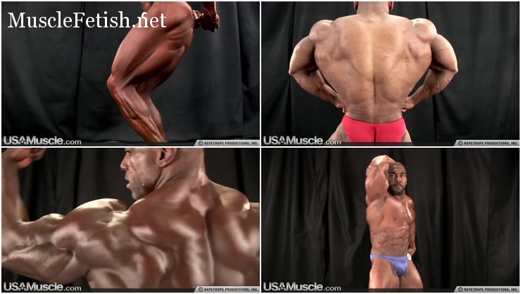 USA muscle - big black bodybuilders compilation