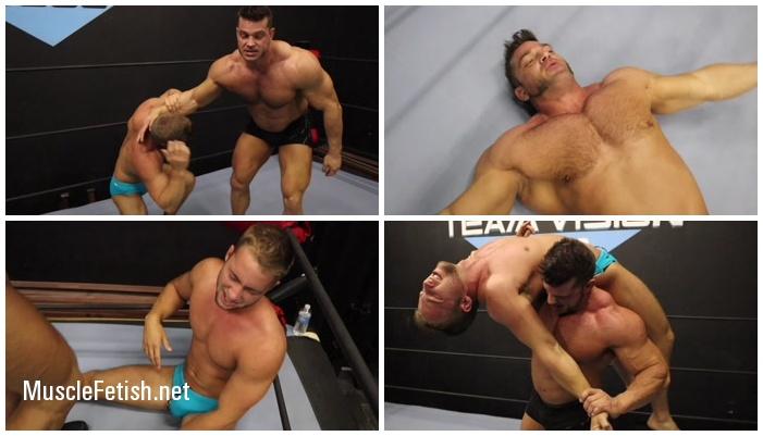 Underground Wrestler - Brian Cage Vs Cena - 100% Muscle (HD)