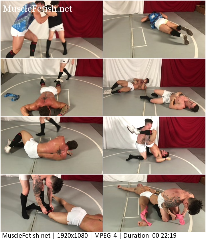 Underground Wrestlers - Rugby Rumble - Sexy Marco vs Cason