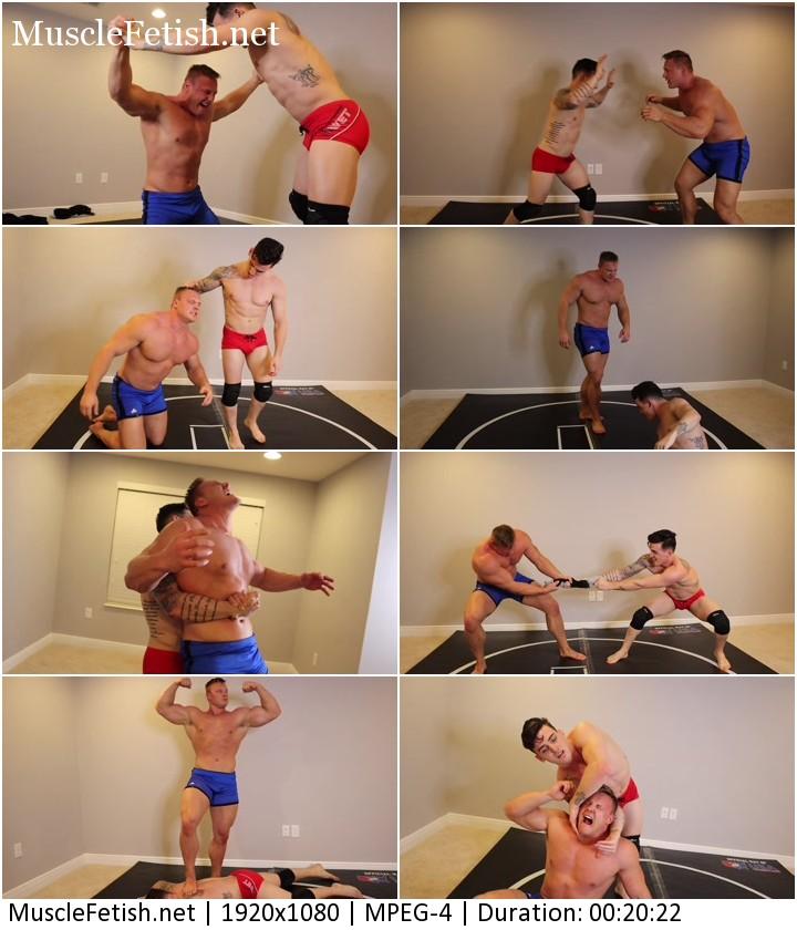 Underground wrestler video - Coming for the king Marco vs vidar