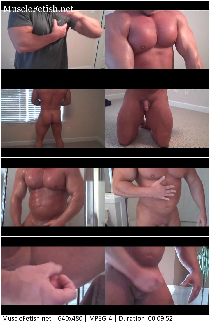 Unknown hot muscle guy posing on cam XXX