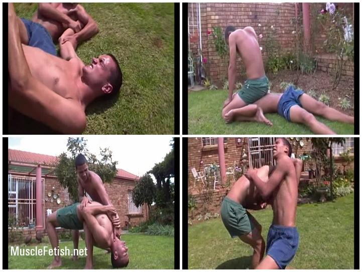 Untamed Creations - Mugged Nico vs Adrian (wrestling)