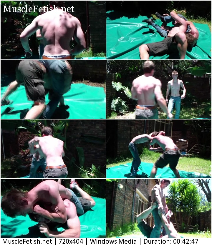 Untamed Creations Video Grudge Match - experienced wrestlers - Louis Vs. Dean