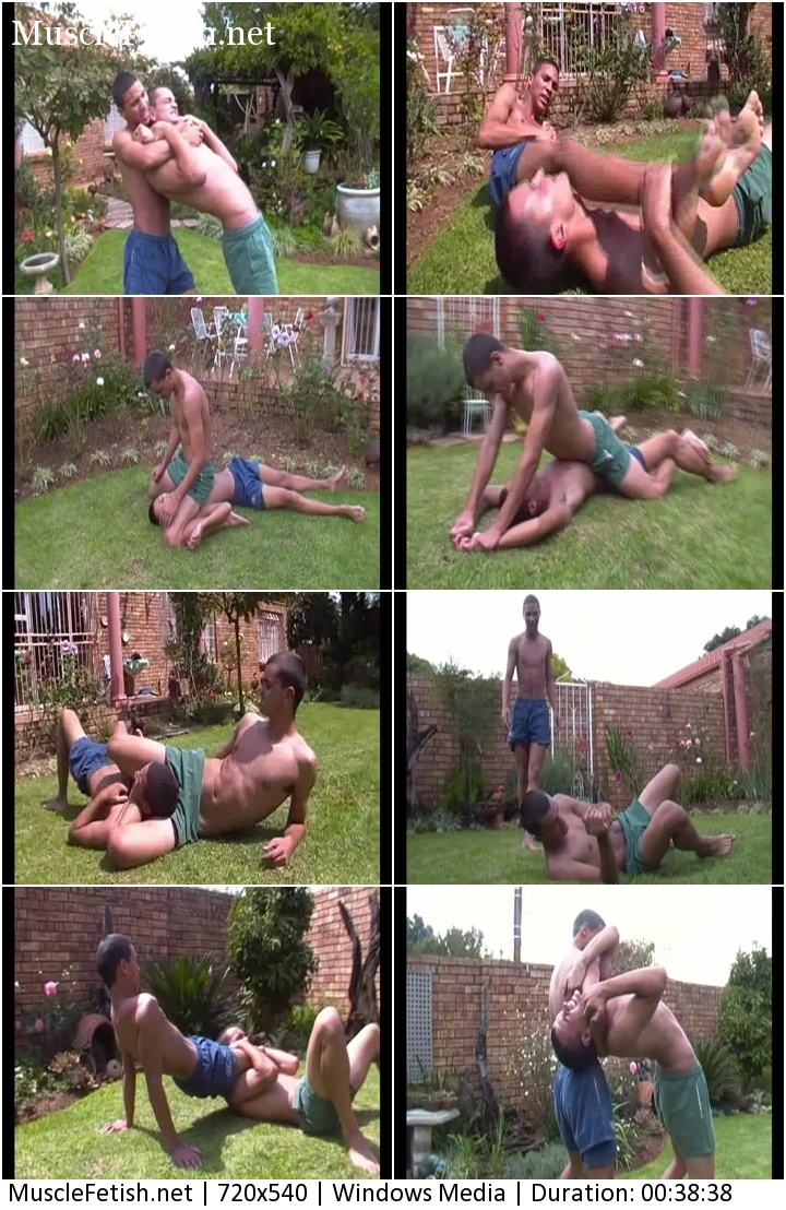Untamed Creations Video - Mugged Nico vs Adrian (wrestling)