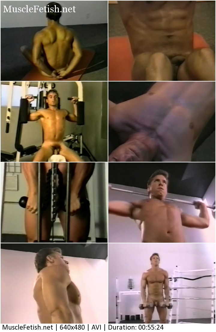 Upper Body Workout - Softcore Gay Movie from DaVinci Body Series 1993