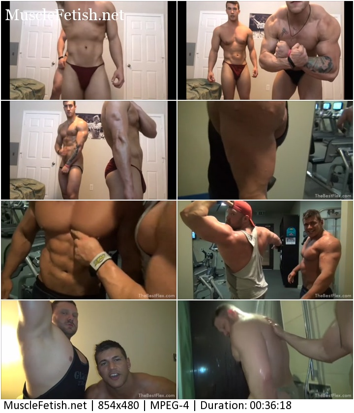 Video From XXXmuscleflex - Jamie Branson - Muscle Duos - Photo Shoot