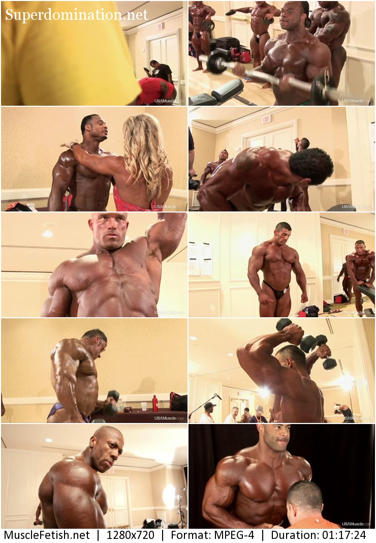 Video - Tampa Bay Pro Bodybuilding Pump Room One - USAMuscle 2012