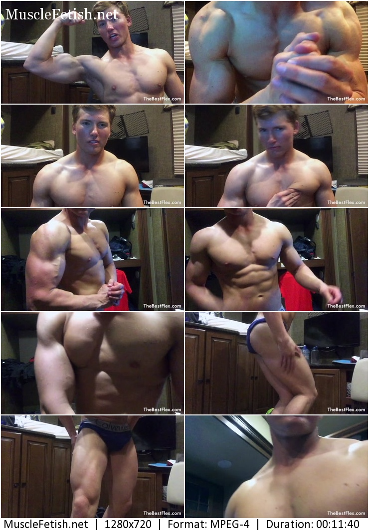 Video TheBestFlex - Muscle God Mike - Cocky Muscle Domination