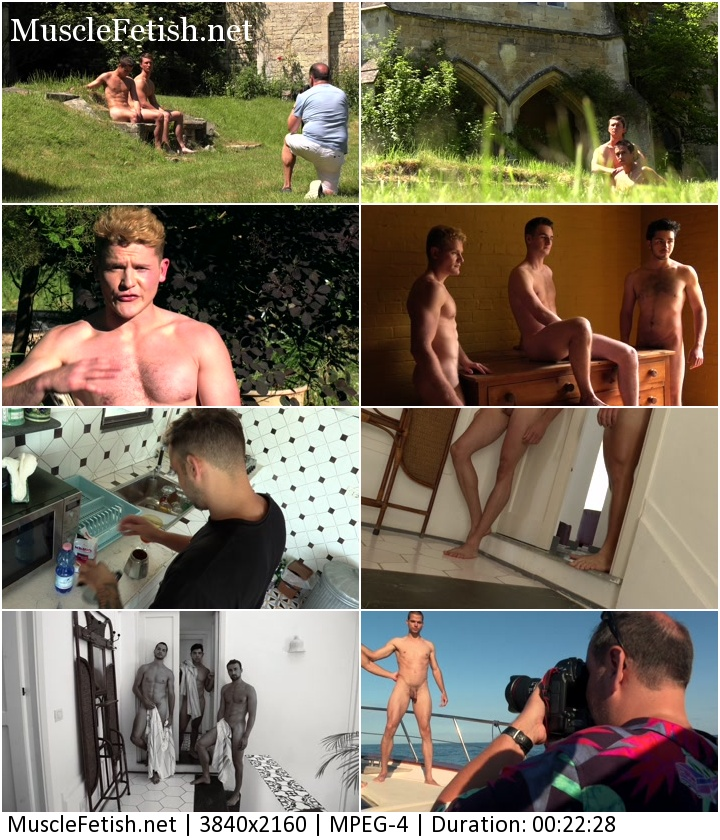 Erotic Male Photo Shoot from Warwick Rowers 2019 - April 4K