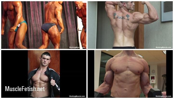 WorkingMuscle Male Bodybuilders - Gavin F and Daniel A Photo Shoots